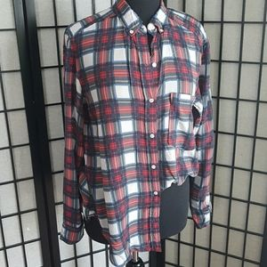 Wilfred Free Plaid Blouse